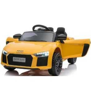 Comprar Coche Eléctrico Infantil Audi Little R8 Spyder 12v 2.4g amarillo