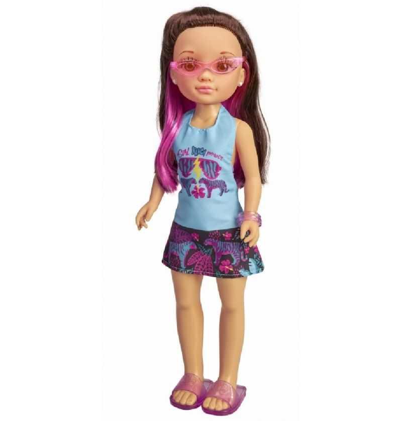 Comprar Muñeca Nancy un día con gafas Tropical Morena