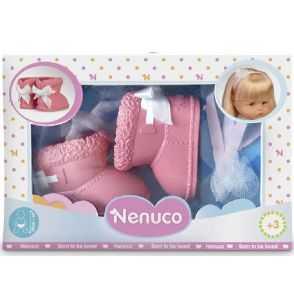 Comprar Zapatos Botas Rosa salmón Muñeco Nenuco