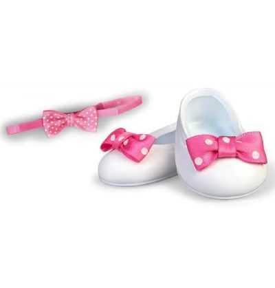 Comprar Zapatos Manoletinas blancos Muñeco Nenuco