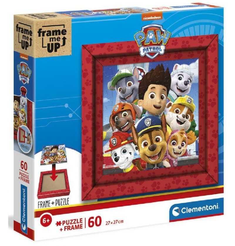Comprar Puzzle 60 piezas Patrulla Canina con Marco