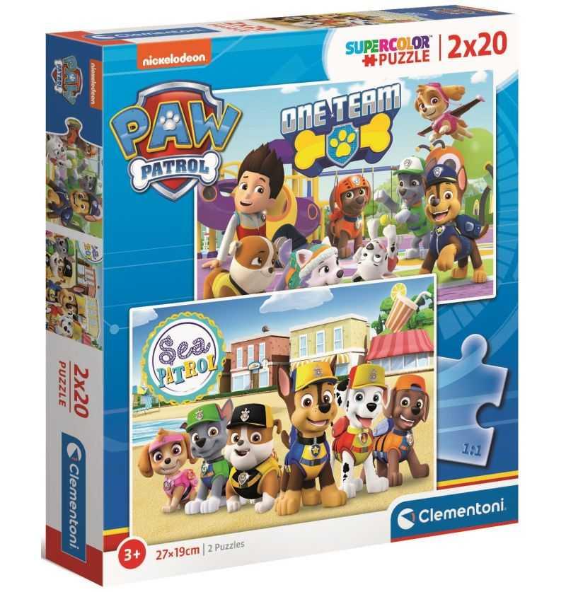 Comprar Puzzles de 20 piezas Serie Televisiva Patrulla Canina
