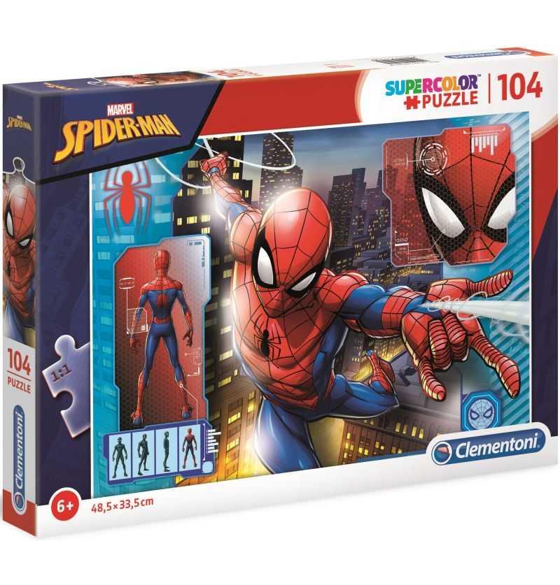 Comprar Puzzle 104 Piezas Serie Dibujos Spiderman