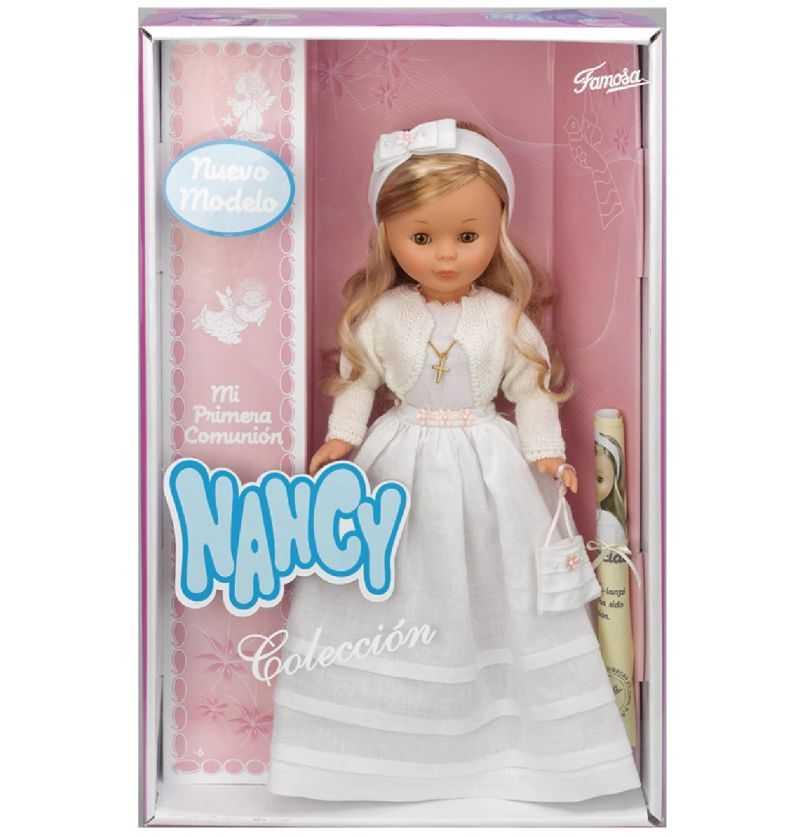 Comprar Muñeca Nancy Comunion Rubia colección
