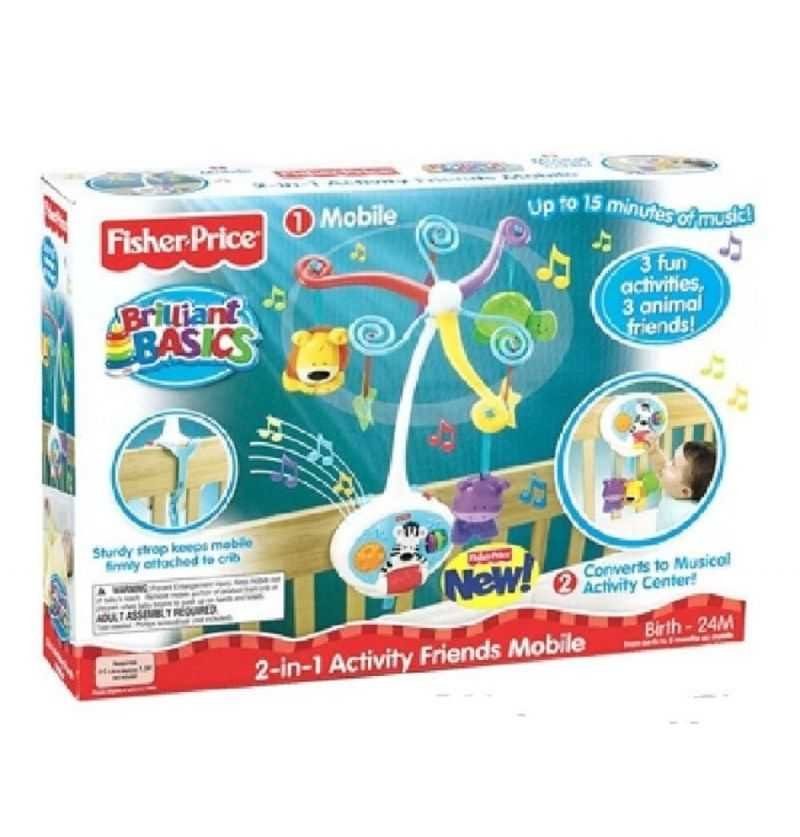 Comprar Movil Musical Activity 2 -1 Fisher Price