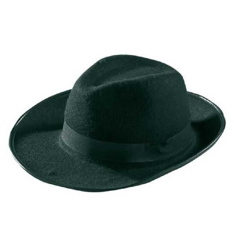 Comprar Sombrero Gangster Negro