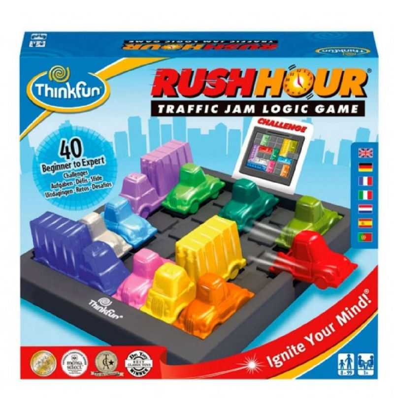Comprar Juego de Mesa Retos Logica Rush Hour Escapa del Atasco