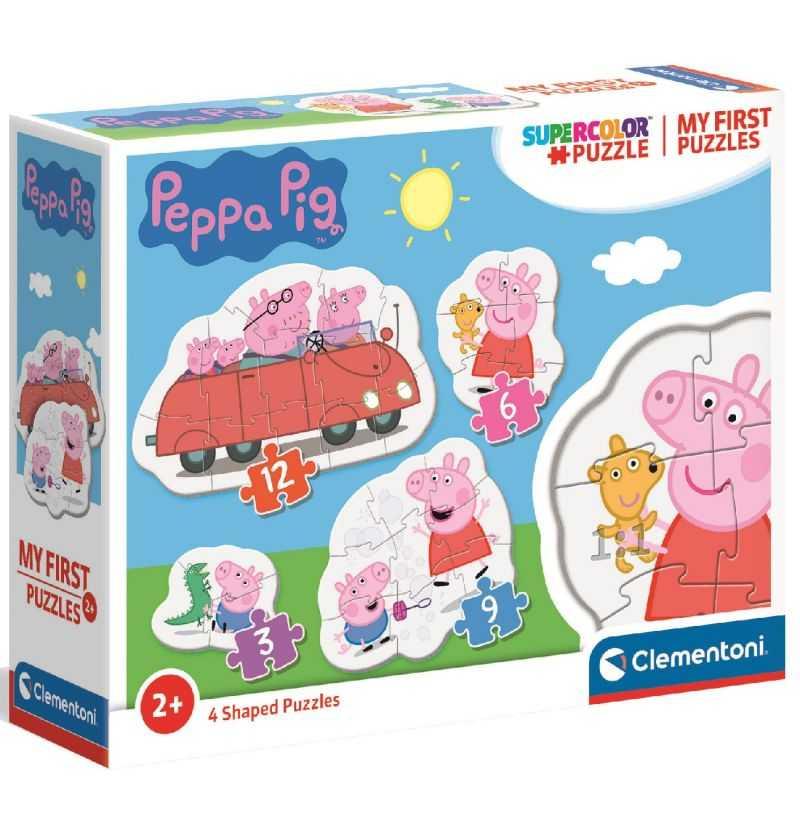 Comprar Puzzle Progresivo Familia Peppa Pig
