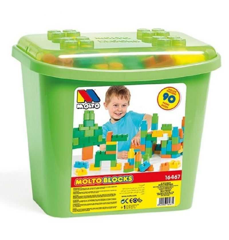 Comprar Cubeta Bloques Construcción Verde