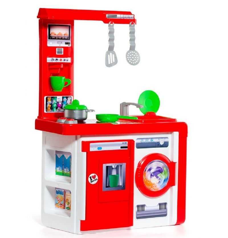 Comprar Cocina Moderna Infantil Roja