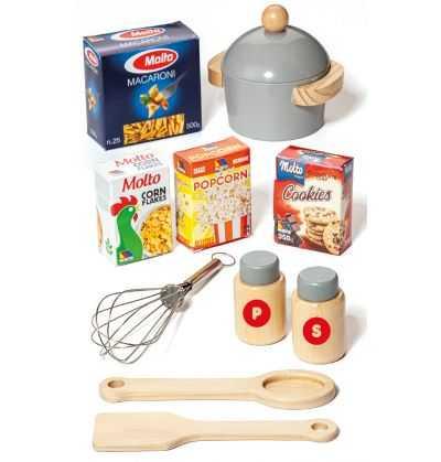Comprar Cocina Moderna Infantil de Madera Roja Grande
