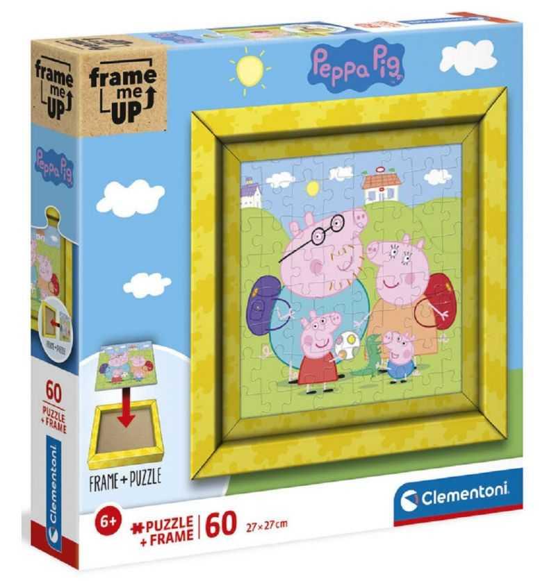 Comprar Puzzle 60 piezas Peppa Pig con cuadro