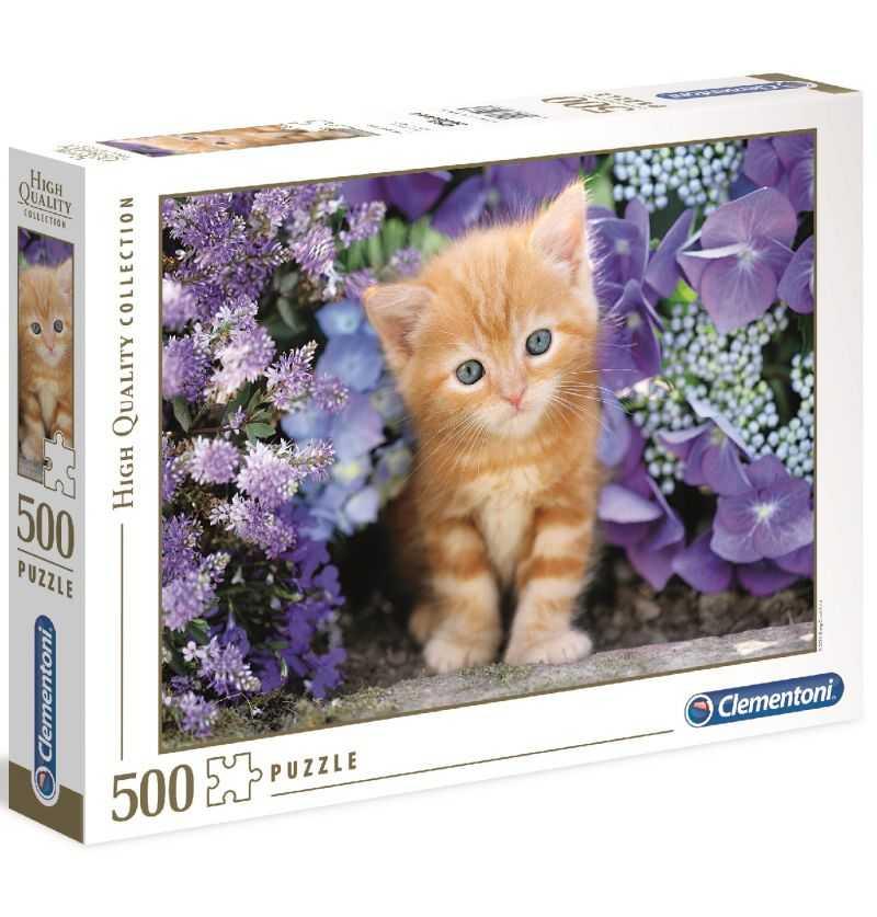 Comprar Puzzle 500 piezas Tierno Gatito