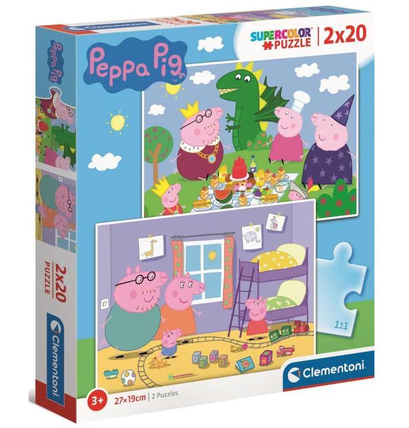 Comprar Puzzles de 20 piezas Serie Televisiva Peppa Pig