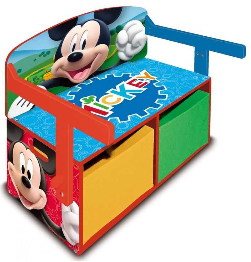 Comprar Pupitre - Banco de Madera Infantil Mickey Disney