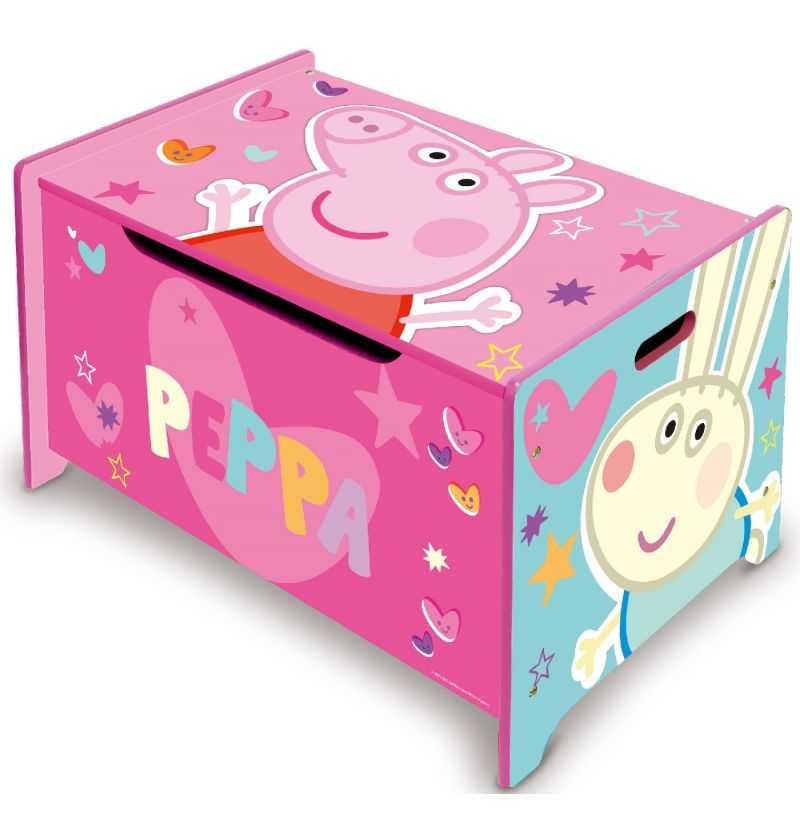 Comprar Juguetero de Madera Infantil Peppa Pig