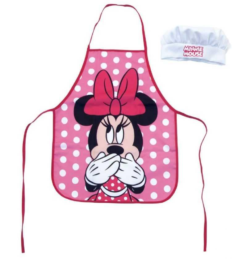 Comprar Set Infantil Delantal y Gorro Minnie Disney