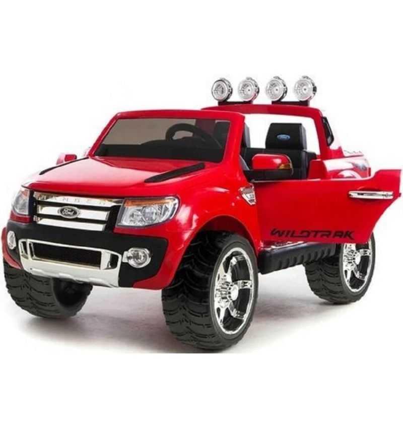Comprar Coche eléctrico Infantil Ford Ranger 12v 2.4g rojo