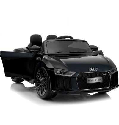 Comprar Coche Eléctrico Infantil Audi Little r8 Spyder 12v 2.4g negro metalizado