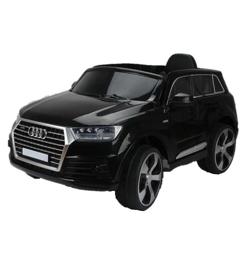 Comprar Coche Eléctrico Infantil Audi Q7 S-Line 12V 2.4G Negro