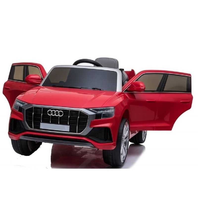 Comprar Coche Eléctrico Infantil Audi Q8 Rojo 12V