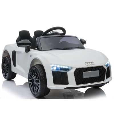 Comprar Coche Eléctrico Infantil Audi Little R8 Spyder 12v 2.4g Blanco