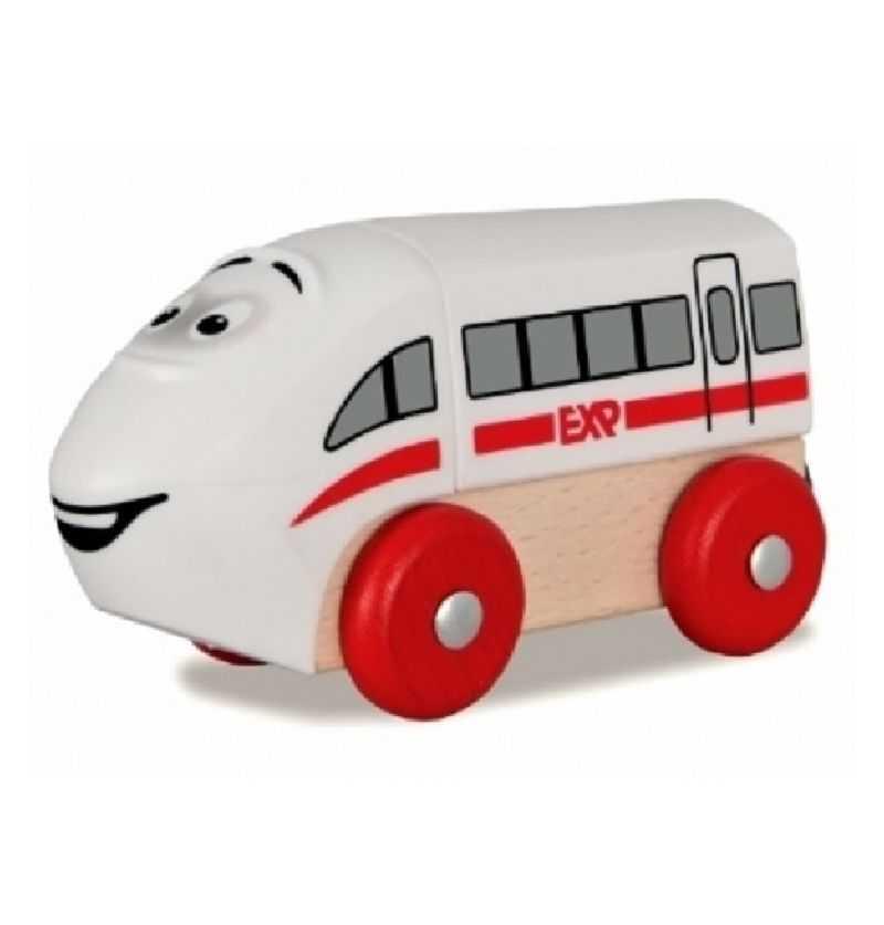 Comprar Locomotora se Tren con Cara de Madera