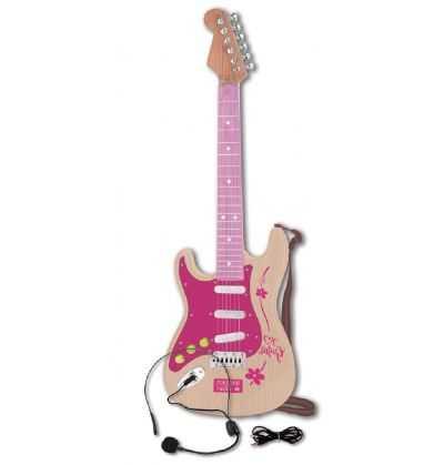 Comprar Guitarra Eléctrica Rock Infantil Rosa Bontempi