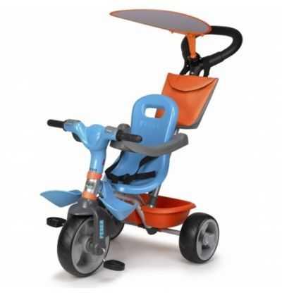 Comprar Triciclo Baby Plus Music Azul Feber