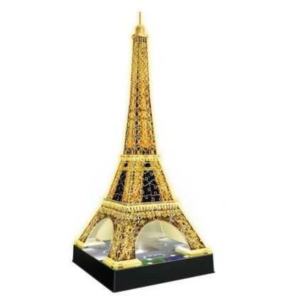 Comprar Puzzle Torre Eiffel Luz 3D