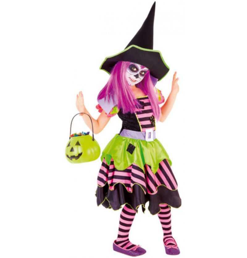 Comprar Disfraz Brujita del Bosque Halloween Infantil