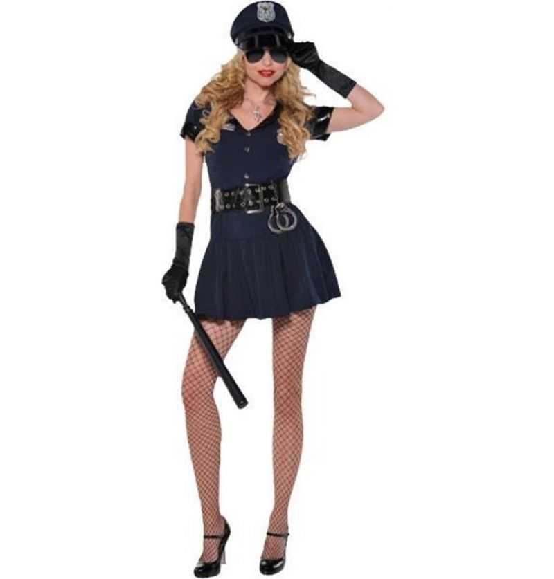 Disfraz Policía Sexy Mujer