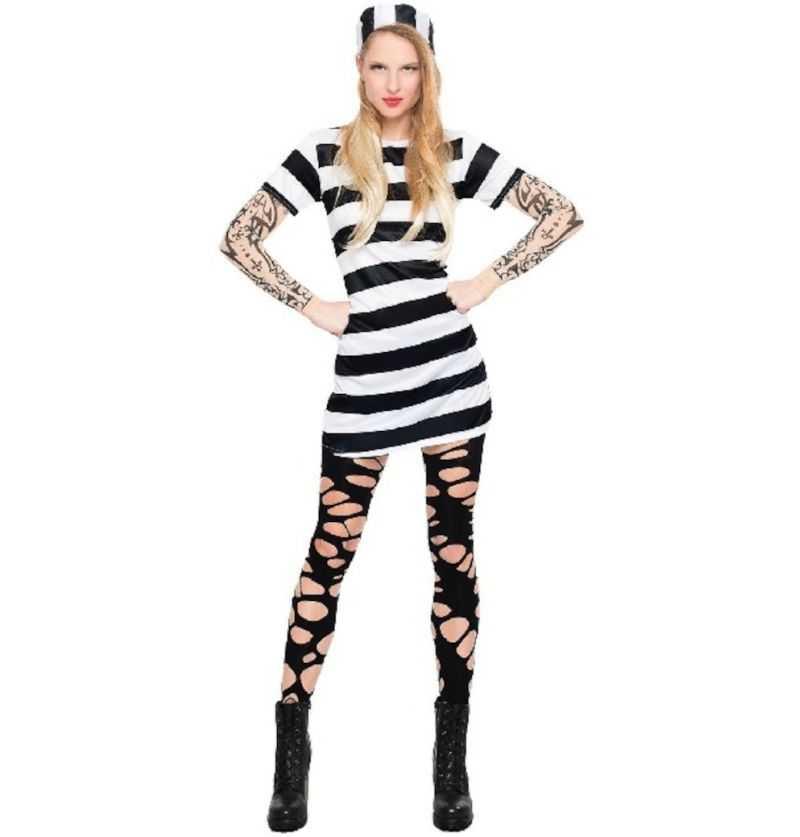 Comprar Disfraz Presa Tatto Adulto