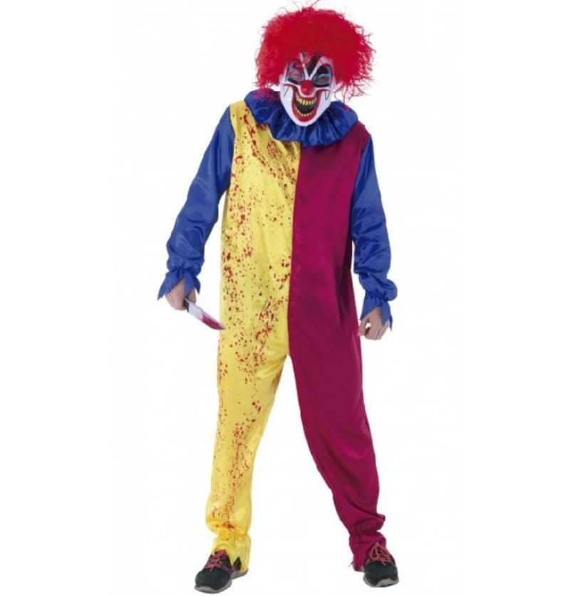 Comprar Disfraz Payaso Psycho Halloween Adulto