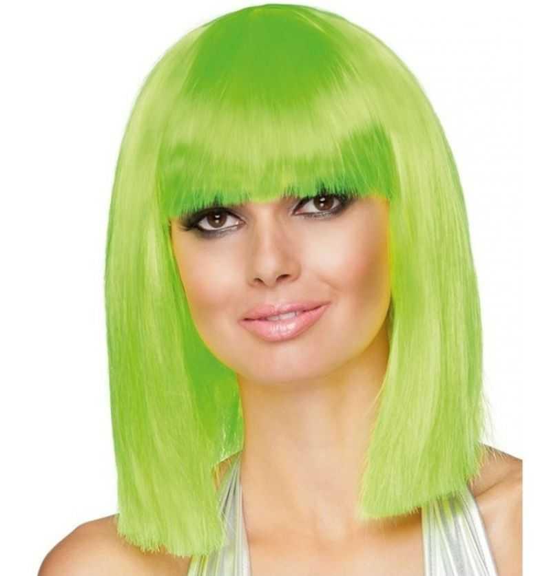 Comprar Peluca Verde Adulto
