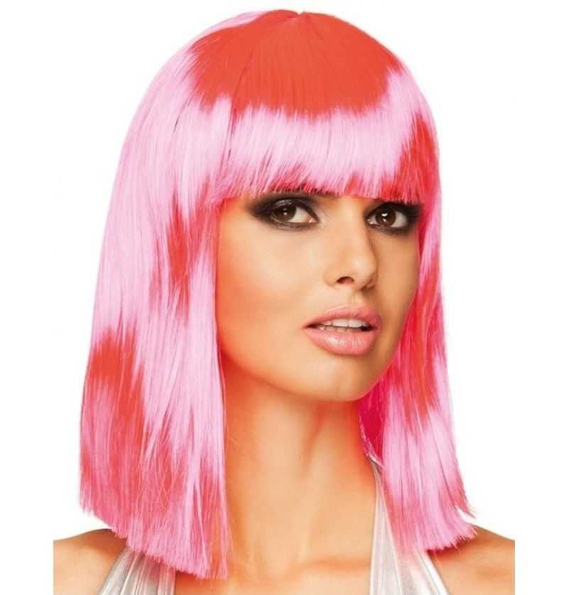 Comprar Peluca Rosa Adulto