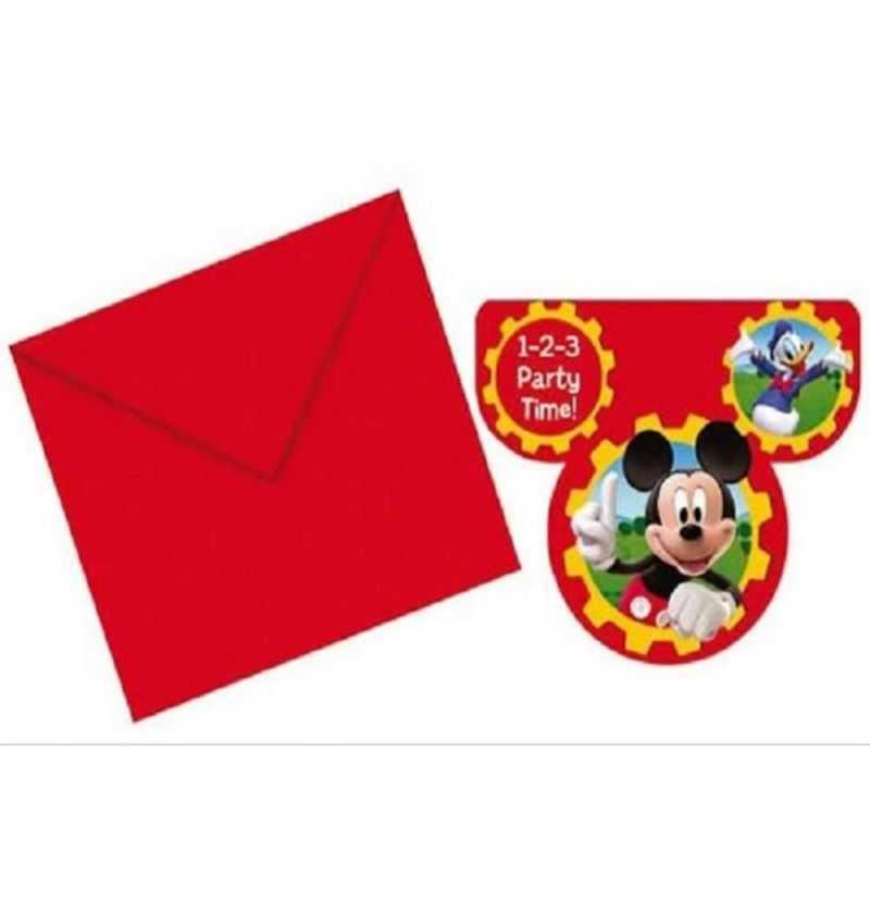 Comprar Invitaciones de fiesta Mickey Disney