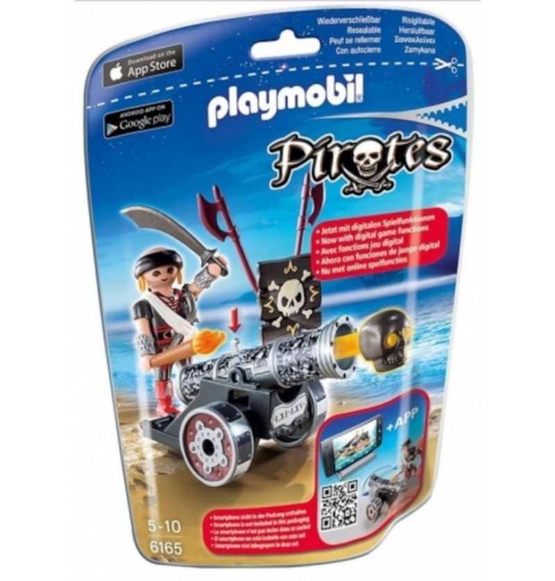 Comprar Playmobil Cañón Interactivo Negro