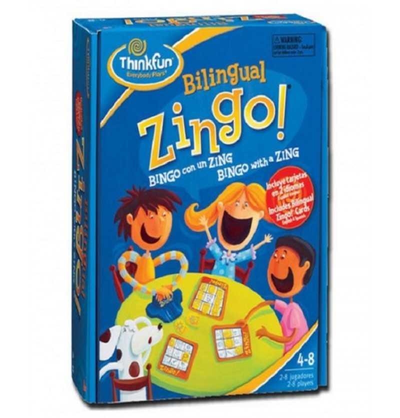 Comprar Juego de Mesa de Retos y lógica Zingo Bilingüe