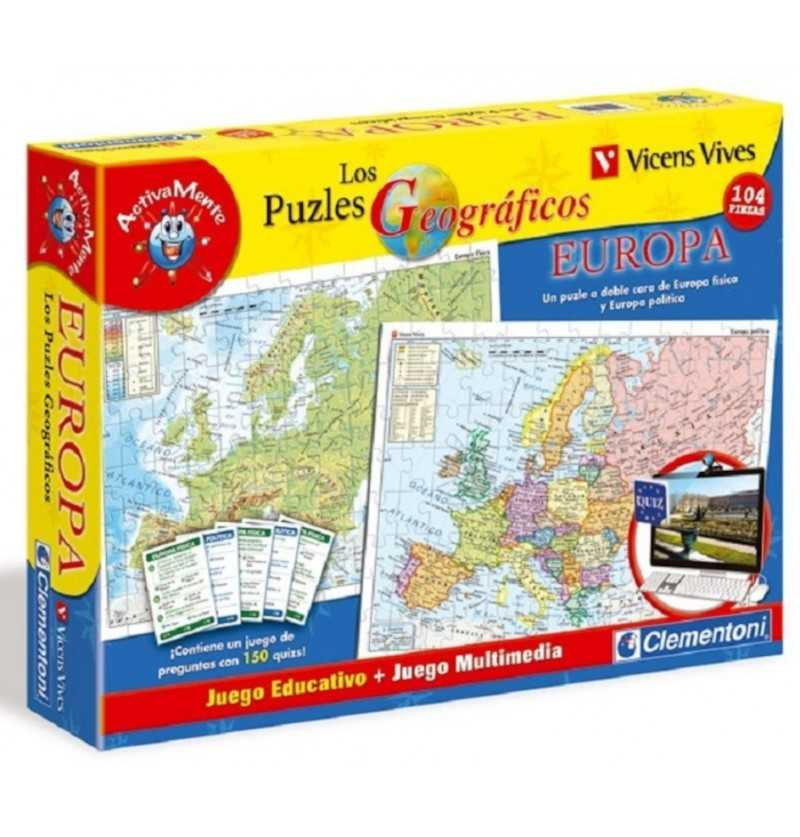 Comprar Puzle Mapa Europa