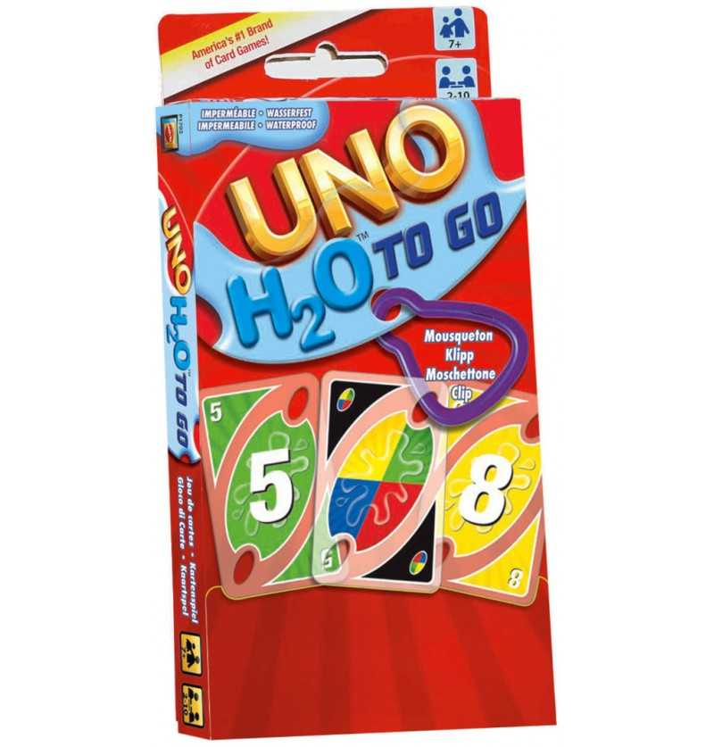 Comprar Juego Cartas Uno H2o To Go