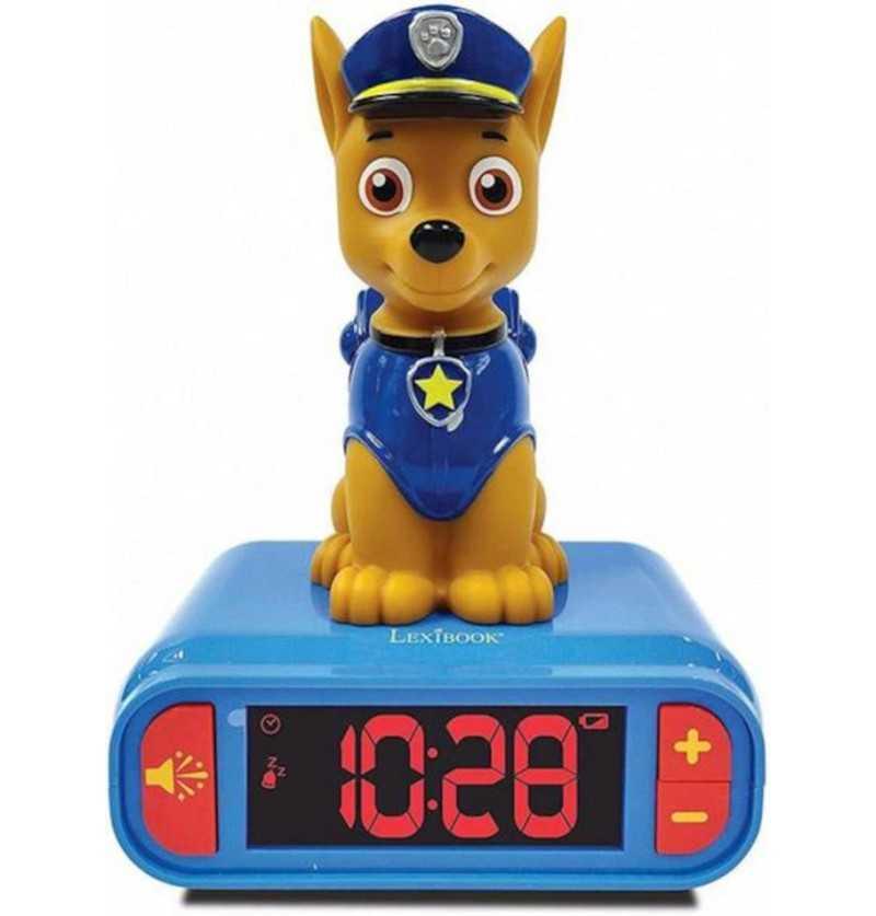 Comprar Despertador Digital azul Patrulla Canina Chase