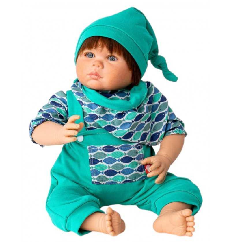 Comprar Muñeco Bebe Reborn Mattia con Pelo