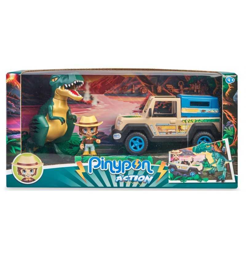 Comprar Coche Pickup con Dinosaurio Wild PinyPon Action