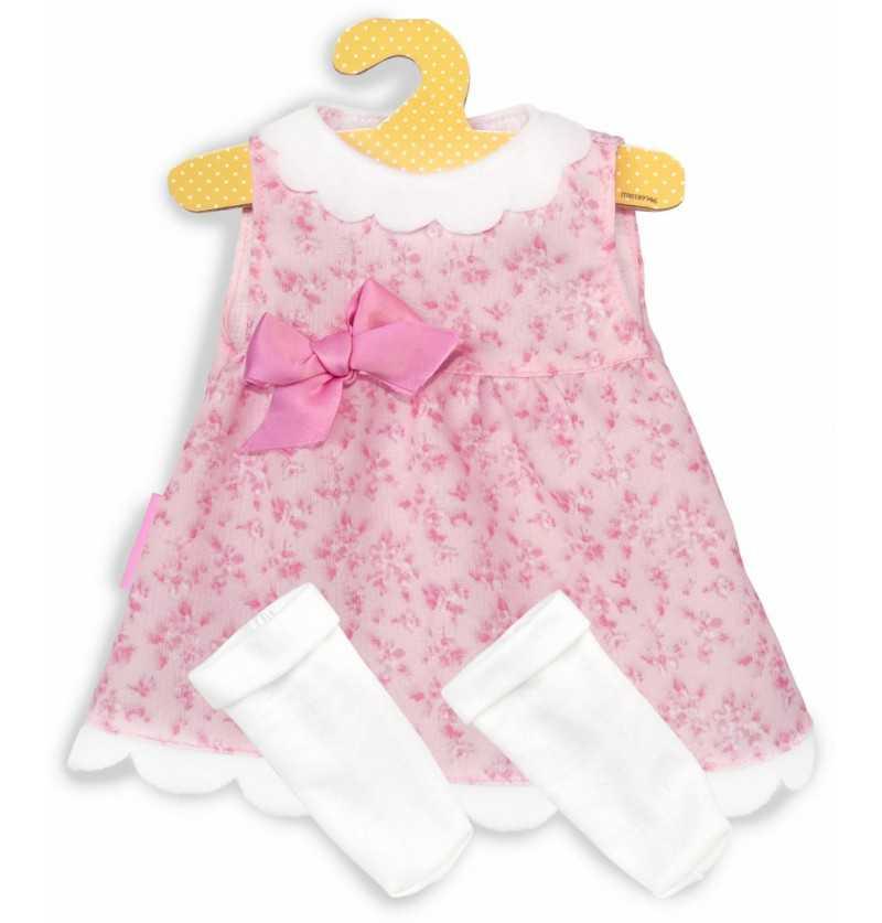 Comprar Vestido Rosa Muñeco Bebé Nenuco en Percha de 42cm.