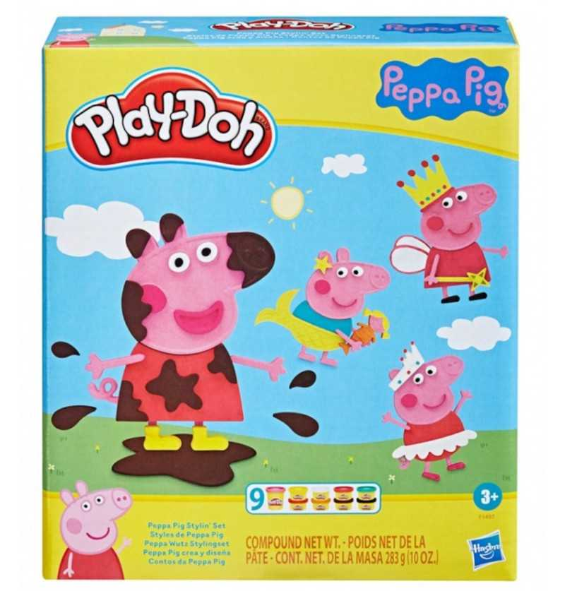 Comprar Play-Doh Plastilina Peppa Pig crea y Diseña