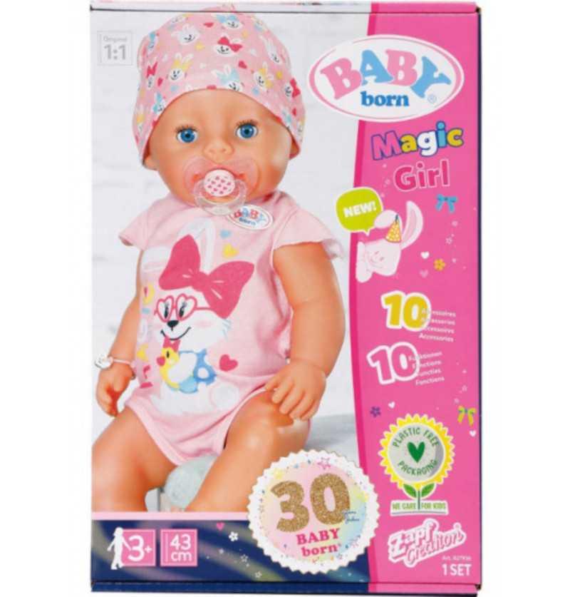 Comprar Muñeca Baby Born Magic Niña Ojos Azules