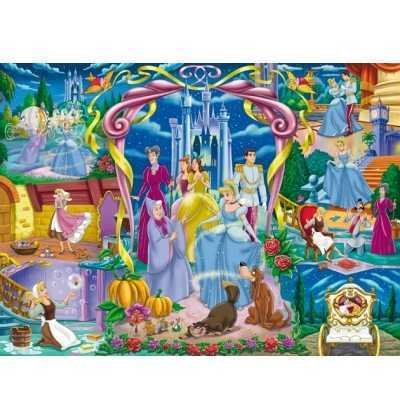 Puzzle 24 Maxi Cenicienta Princesas