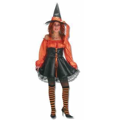 Disfraz Bruja Naranja  Halloween
