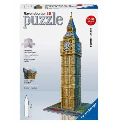 Puzzle BIG BEN 39 cm    3D   ravensburger of